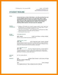 Resume College Student Example Best of Resume Summary For College Student Resume Summary Examples For