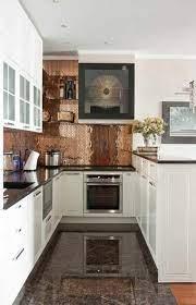 Copper kitchen backsplash, Kitchen ...
