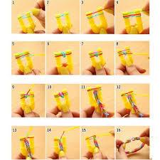 diy creative rubber band bracelet 01