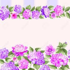 Roze Bloem Grens Met Tegel Elegante Vintage Kaart Ontwerp Rozen
