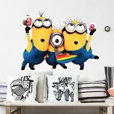 Minion Bedroom Wallpaper Similiar Minion Wall Decoration Keywords