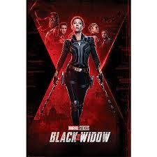 Black Widow Poster Marvel Teaser, Scarlett Johansson - Poster Großformat  jetzt im Shop bestellen Close Up GmbH