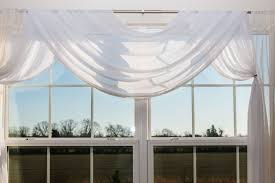 scarf valances are one of the easiest types to incorporate into your room plus