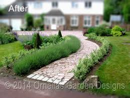 Small Picture Country Front Garden Design in Otford Ornellas Garden Designs