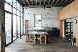 Open plan office design birmingham Office Workspace Styleblueprint 107yearold Downtown Warehouseturnedloft Space