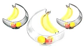 bowls fruit bowl banana hanger with tag hanging chrome round gs hook women basket