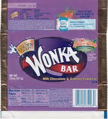 wonka chocolate bar wrapper. Wonderful Chocolate 2005 Wonka Candy Wrapper Throughout Chocolate Bar K