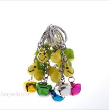 <b>Manufacturers sell 100pcs</b> lot metal bell keychain acrylic Expression ...
