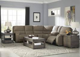 Three Piece Living Room Set 3 Piece Sectional Living Room Set In Taupe