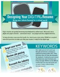 digital Resume Infographic SPARK Ann Arbor