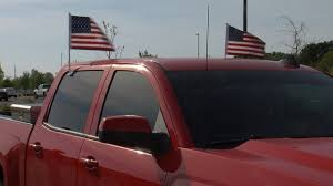 Image result for truck with american flags