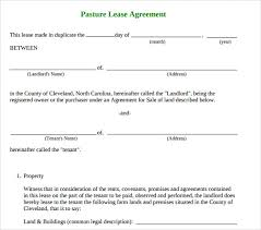 Basic Lease Agreement Sample Basic Lease Agreement 9 Documents In Pdf