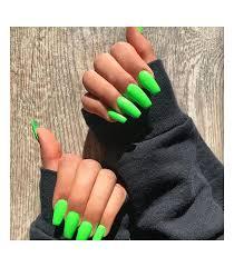 Neonovo Zelený Lak Na Nechty