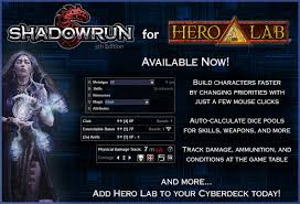 shadowrun 5 character sheet shadowrun fifth edition is now available for hero lab shadowrun 5