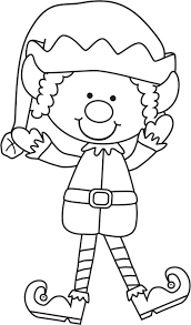 Coloring Pages Christmas Elf Coloring Pages Rocks Printable Image