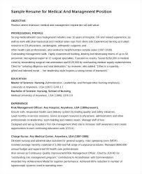Sample Resume Management Position Cute Sample Resume For Business ...