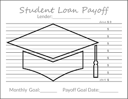 Mortgage Payoff Chart Printable Tracking Your Debt Goals