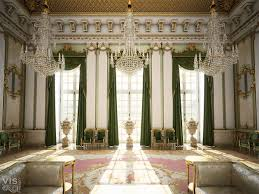 Interior inspired by european palaces published by CGarchitect.com ...