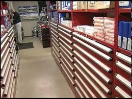 borroughs automotive parts service department storage
