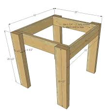 simple kid s table and chair set made