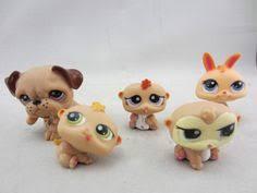 Cute Rare <b>Littlest Pet Shop LPS Lot</b> Figures Collection Toy Cat Dog ...
