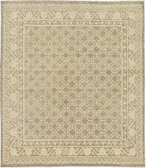 cream 8 3 x 9 7 khotan ziegler oriental rug rugs
