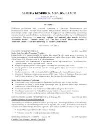 Sample Resume Rn Resume For Study