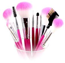 you must clean your makeup brushes to wash out old makeup not to mention the bacteria that forms on them