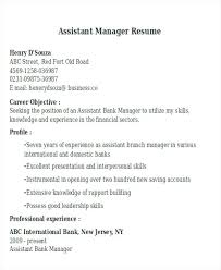Farm Manager Resume Mesmerizing Assistant Manager Resume Sample Skills Store Description Templates