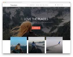 Travel Templates 26 Best Free Travel Website Templates 2019 Colorlib