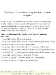 29 Best Cover Letter For Special Education Teacher Assistant