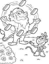 25 Printen Dora En Boots Kleurplaat Mandala Kleurplaat Voor Kinderen