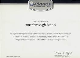 selecting the right sacs casi accredited online high school for  about our accreditation
