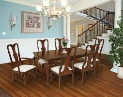 queen anne dining room table from dutchcrafters amish furniture pertaining to set designs 16