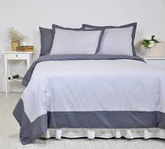 bordered bedding set full queen king