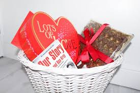 it is valentine s day next week and so i decided to make the husband a valentines day gift basket of little treats i also decided to make a valentines day