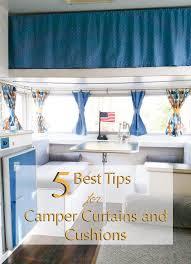 Campervan Design Curtains 5 Best Tips For Diy Camper Curtains The Vintage Journey