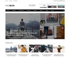 Magblog News Editorial Magazine Html5 Template 2