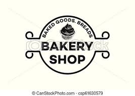 Vintage Emblem Cupcake Bread Bakery Logo Inspiration Isolated On