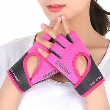 summer sports fitness half finger gloves women weightlifting dumbbell yoga gym wristband equipment training non slip