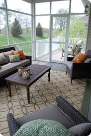 covered porch furniture. oh how i would love a screened in porch covered furniture l