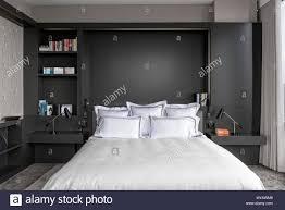 Modern Schlafzimmer In Wohnung In New York City Usa Stockfoto