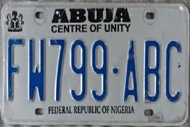 abuja number plate codes and what they
