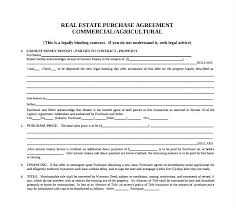Property Purchase Agreement Template Home Sale Real Estate Sales ...