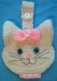 Crochet Towel Topper Pattern Beauteous Ravelry 48 D Kitty Cat Crochet Towel Topper Pattern By LinMarie