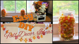 Diy Fall Decorations Easy Fall Decor Diy Pinterest Inspired Youtube