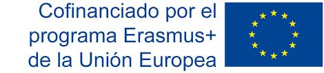 Resultado de imagen de erasmus+ logo español