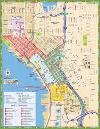 seattle maps  washington us  maps of seattle