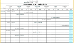 Vacation Coverage Plan Template Leave Schedule Template Employee Vacation Planner Template Excel