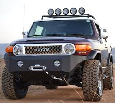 FJ Cruiser Bumpers and Grille Guards - From Pure FJ Cruiser